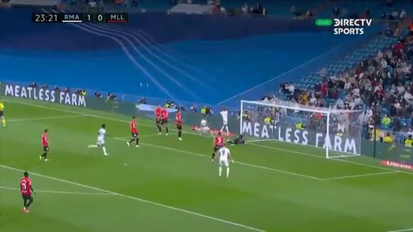 Asensio marcó el 2-0 del Real Madrid-Mallorca