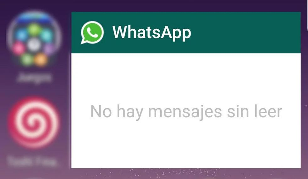 You can accommodate the WhatsApp widget as you wish. All the messages you receive will appear there. (Photo: WhatsApp)