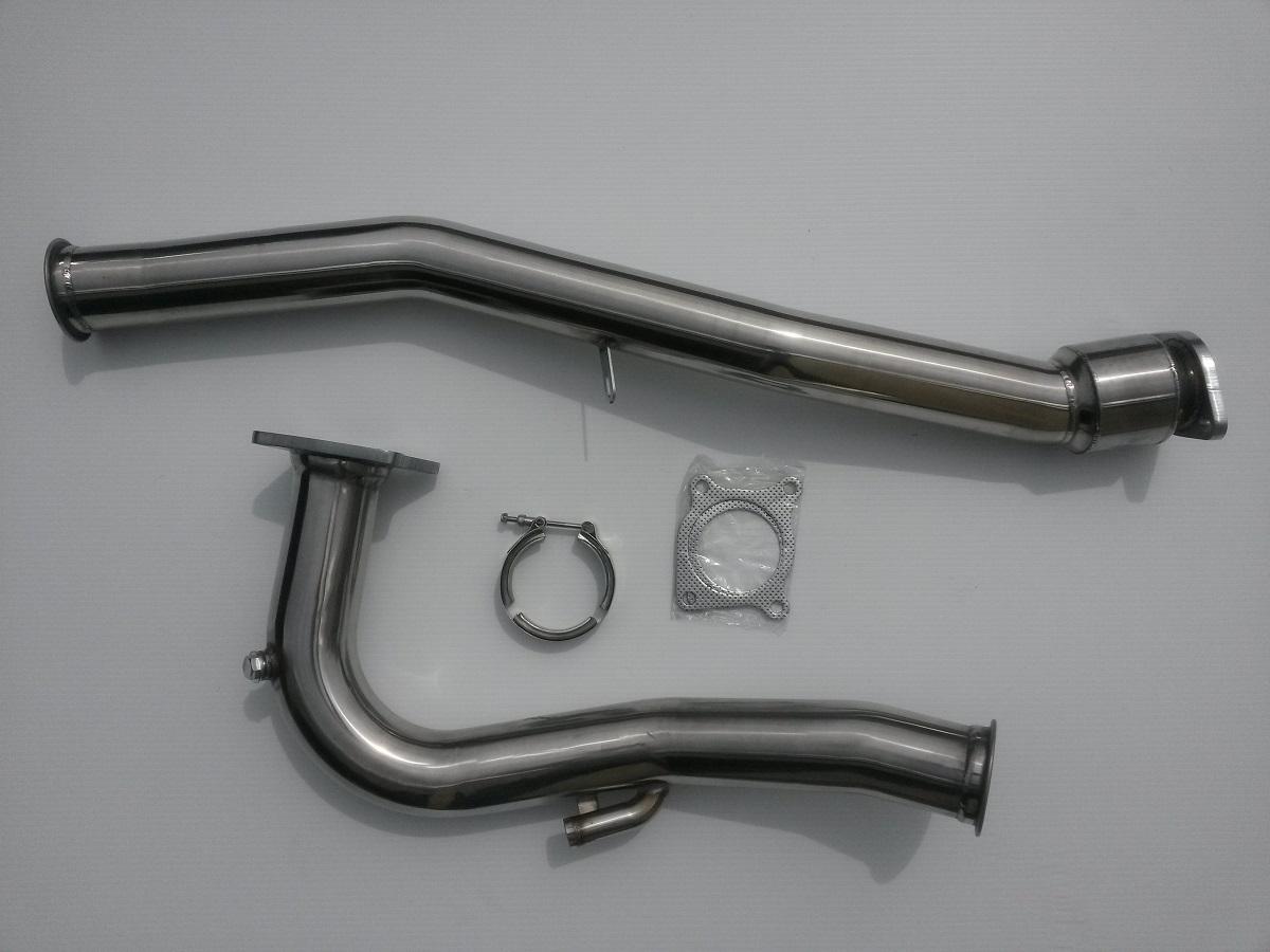 2015 wrx j pipe front pipe down pipe hi flow cat