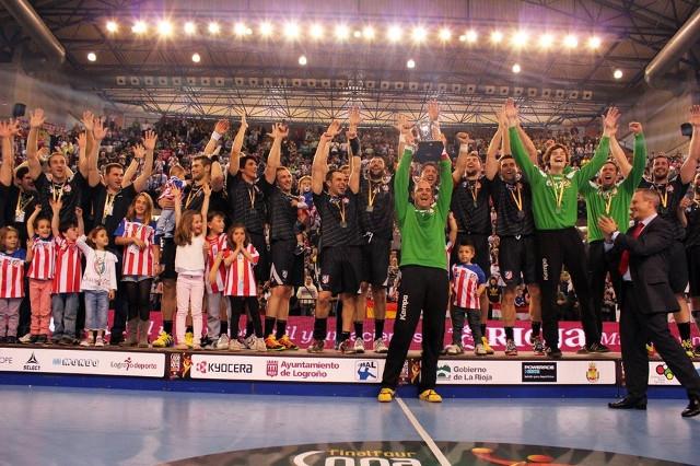 La alegría de la Copa del Rey le duró poco al Atlético ya que poco después desapareció.