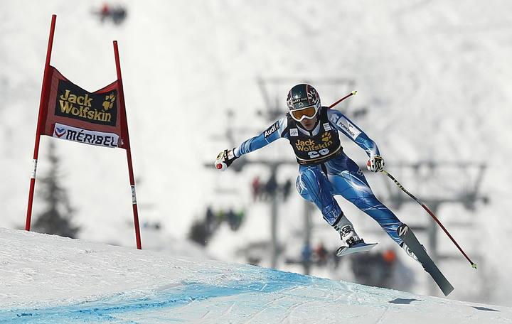 La granadina Carolina Ruiz es la única esquiadora española en haber vencido en un Descenso de la Copa del Mundo.