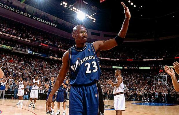 El 16 de abril de 2003 Michael Jordan disputó su último partido como profesional.