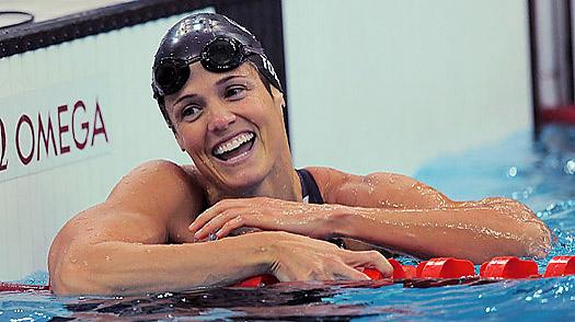 Dara Torres es un gran ejemplo para los amantes de los retos deportivos.