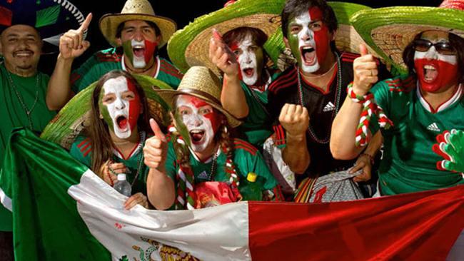 Los aficionados de todo el mundo volverán a poner el colorido en el mundial de Brasil.