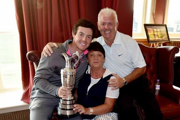La fe en las cualidades de su hijo hizo apostar al padre de Rory McIlroy por su victoria hace 10 años.