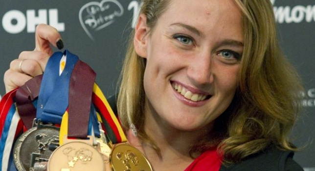 A sus 23 años Mireia Belmonte es una de las mejores nadadoras del mundo en la actualidad.