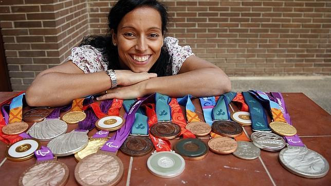 Teresa Perales es considerada como la mejor deportista paralímpica de la historia con sus 22 medallas en Juegos.