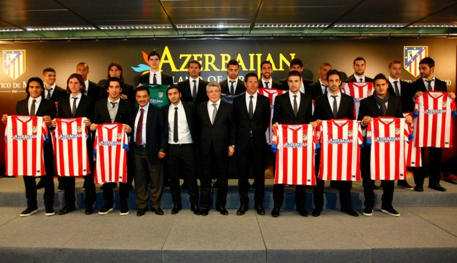 Azerbaiyán ha patrocinado al Atlético de Madrid durante tres años.