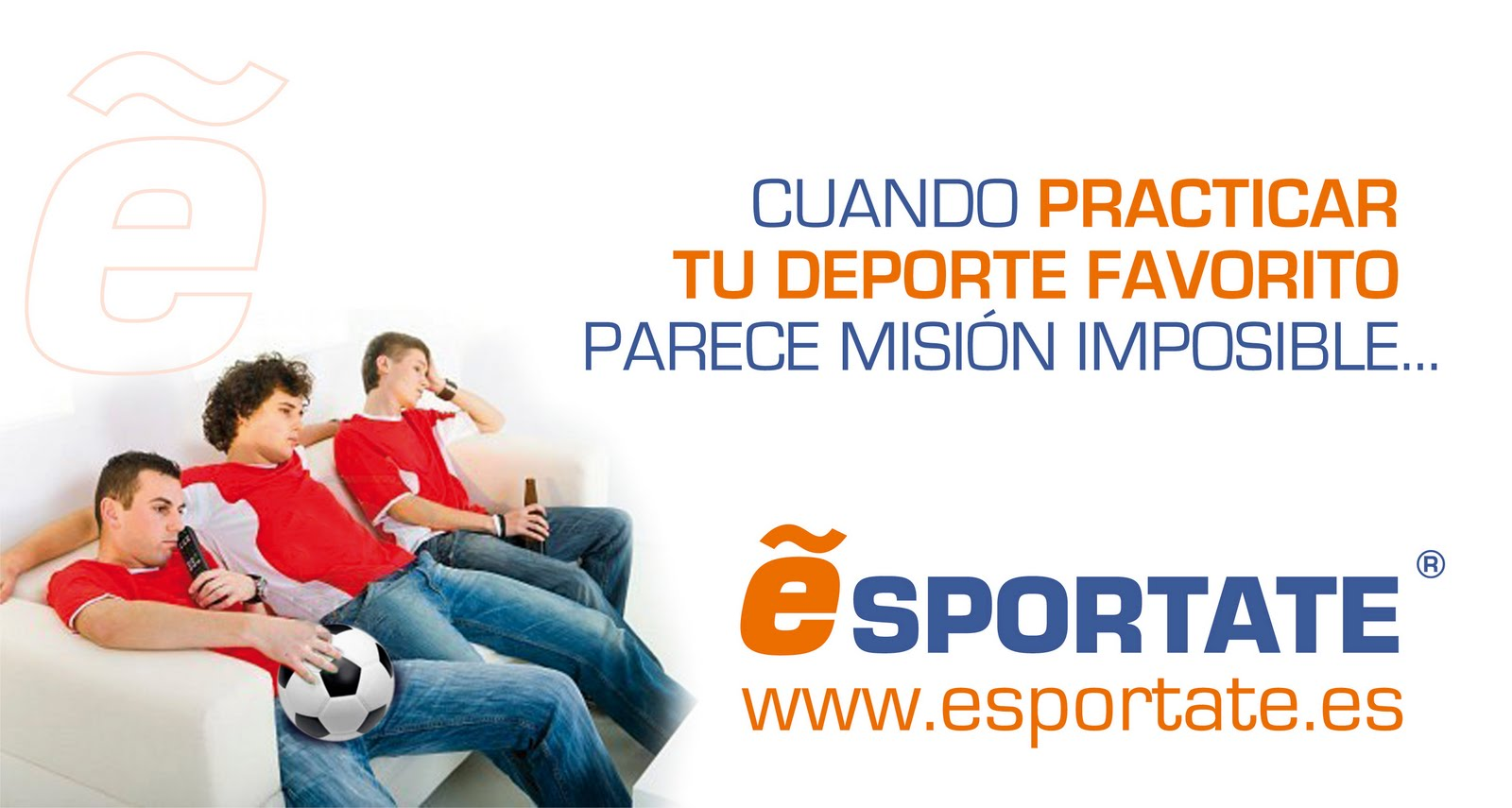 Esportate quiere que sus usuarios pasen a la acción haciendo deporte.