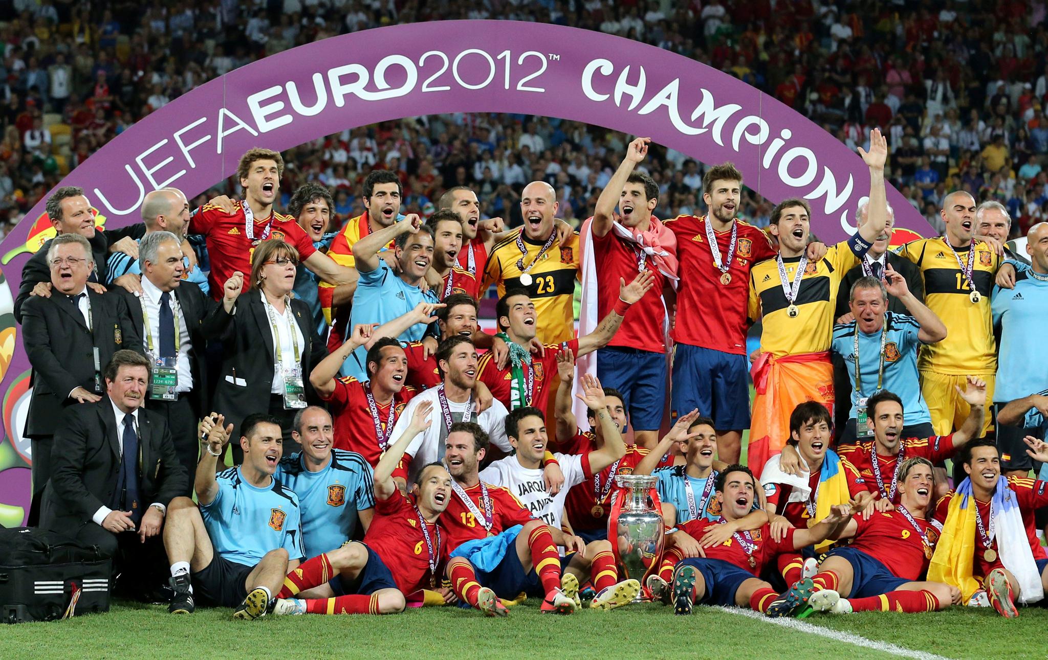 España buscará su cuarta Eurocopa en Francia para convertirse en el rey de copas continental.