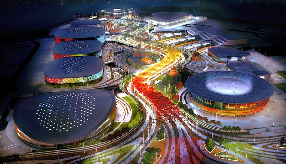 El Parque Olímpico de Rio de Janeiro será el epicentro de los primeros JJOO en Brasil.