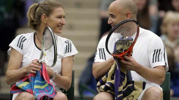 Con Steffi Graf Agassi por fin encontró la estabilidad en su tormentosa vida.