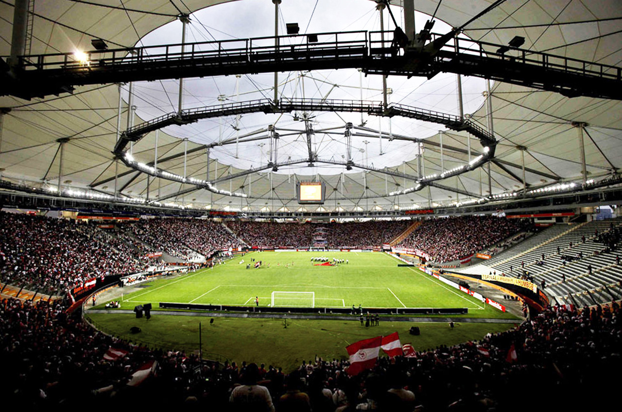 El Estadio Único de La Plata es el más moderno de Argentina.
