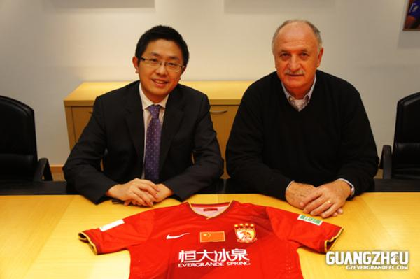 Luiz Felipe Scolari es la última gran adquisición en los banquillos de la Superliga china.