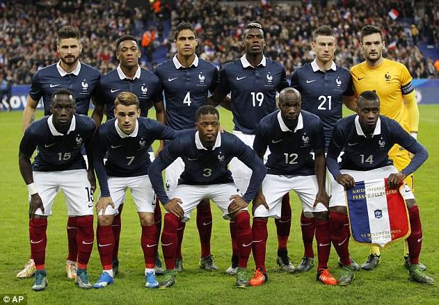 Pese a las ausencias de Varane y Benzema, Francia aspira al título en París.