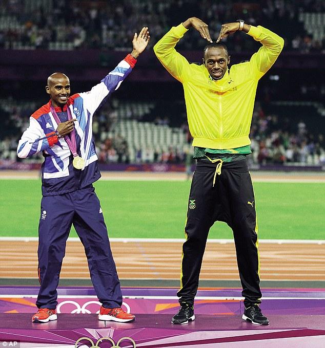 Moh Farah y Usain Bolt serán dos de los grandes protagonistas del mundial de atletismo de Londres.