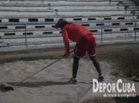 Gersin Luis_Atletismo se prepara_Foto by Deporcuba