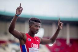 Los saltadores cubanos le dieron las primeras medallas a Cuba en Nairobi 2017