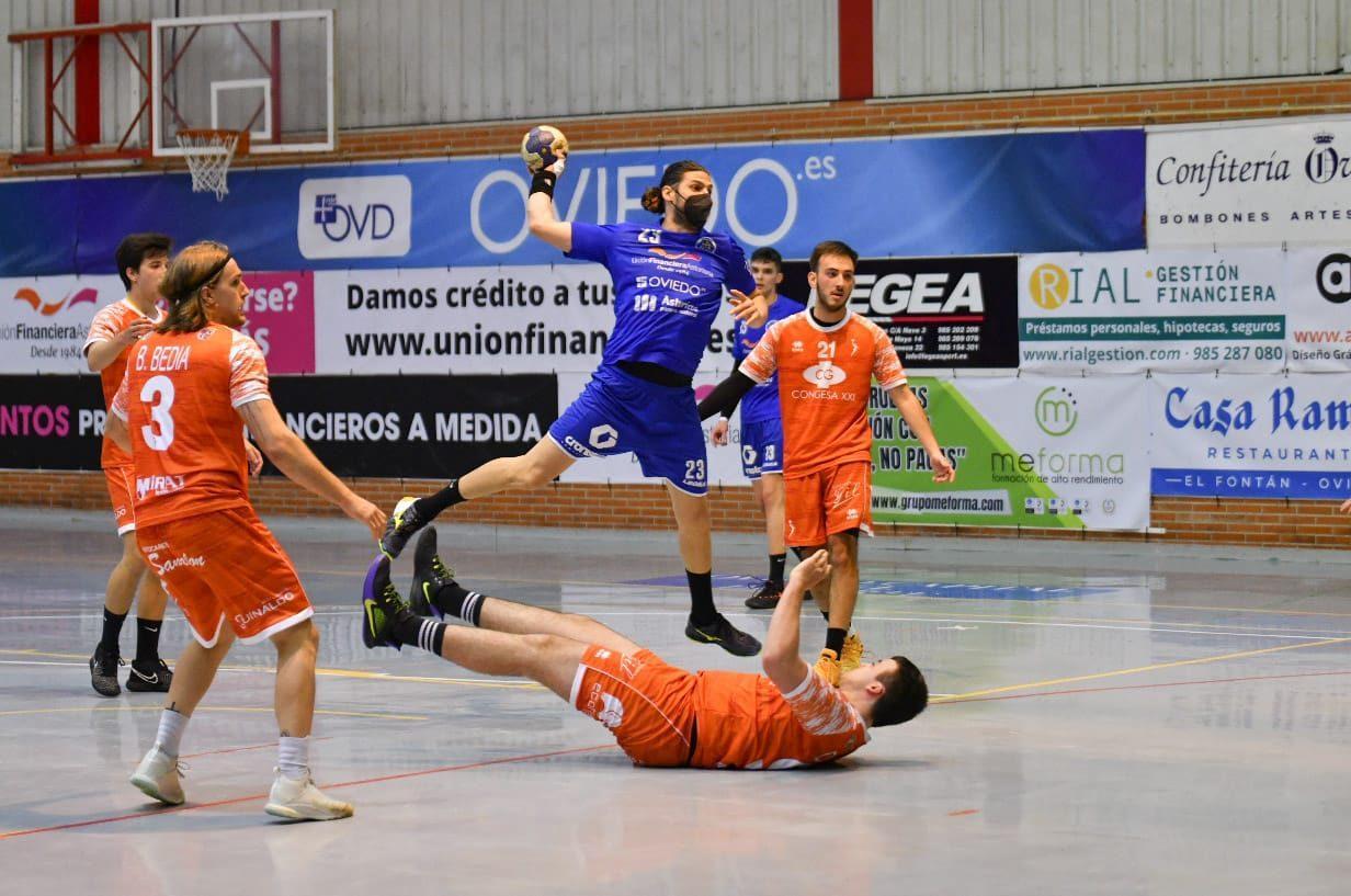 Unión Financiera 29-25 Balonmano Salamanca