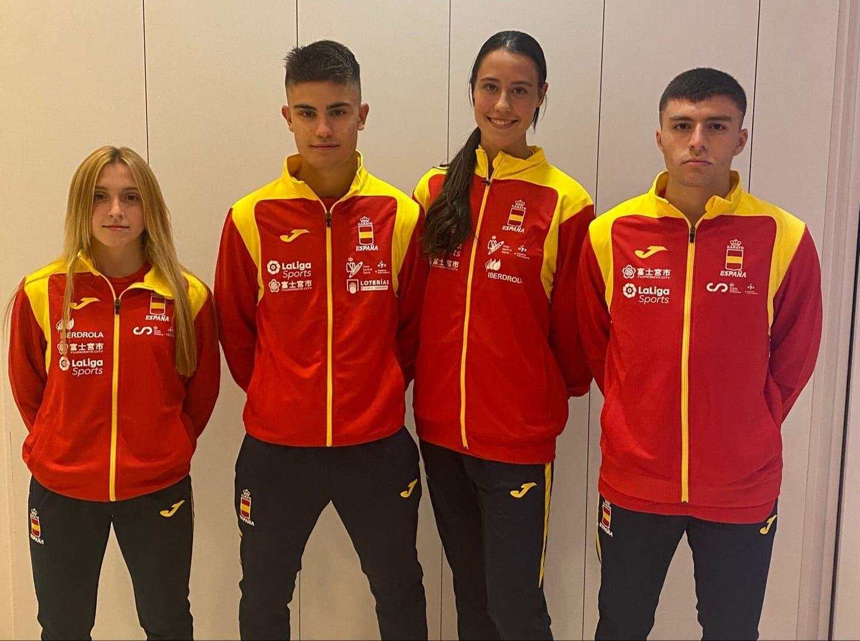 Los representantes de Asturias, que disputarán el Campeonato de Europa Cadete, Junior y Sub 21 2