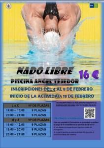 Cartel Nado Libre UVa Soria