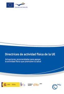 DIRECTRICES SOBRE ACTIVIDAD FÍSICA EN LA UE