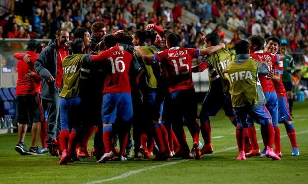 Chile Sub 17 golea a Estados Unidos y queda al borde de la clasificación