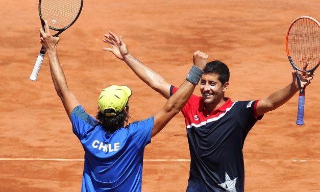 #CopaDavis Chile cierra anticipadamente la serie y accede a la final de la Zona I