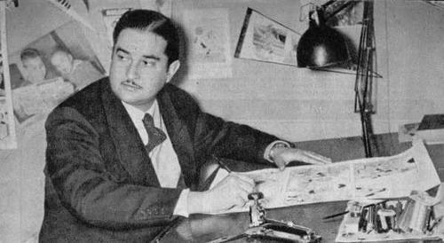 """Fallece el creador del primer cómic deportivo """"Barrabases"""", Guido Vallejos"""