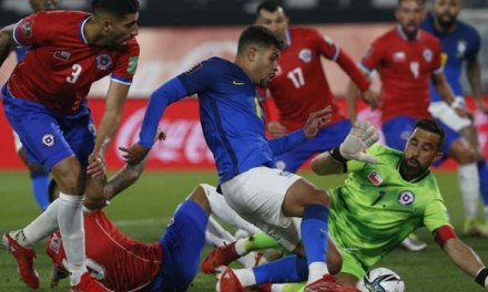 #LaRoja hizo méritos, pero nuevamente no pudo contra Brasil