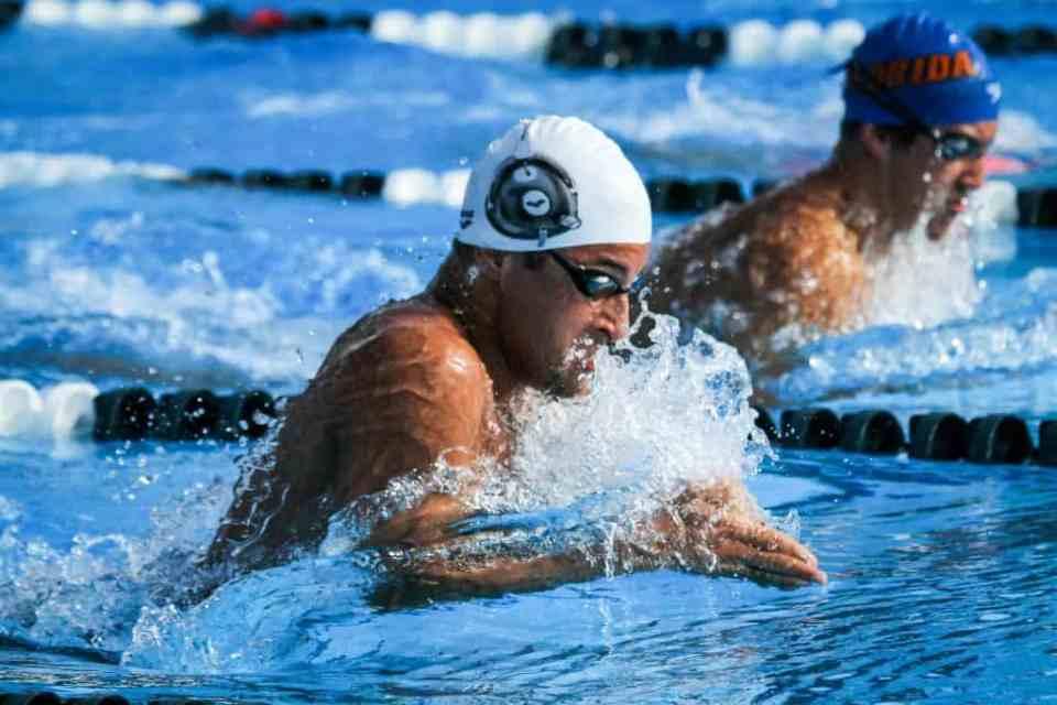 lesiones nadando braza