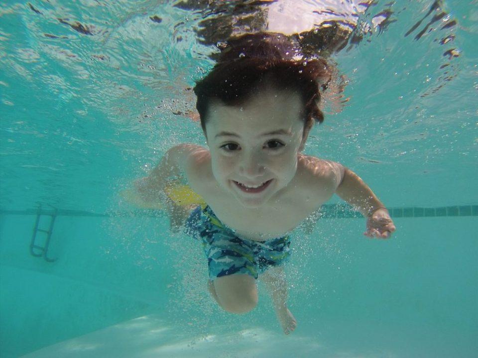 Empezar a nadar