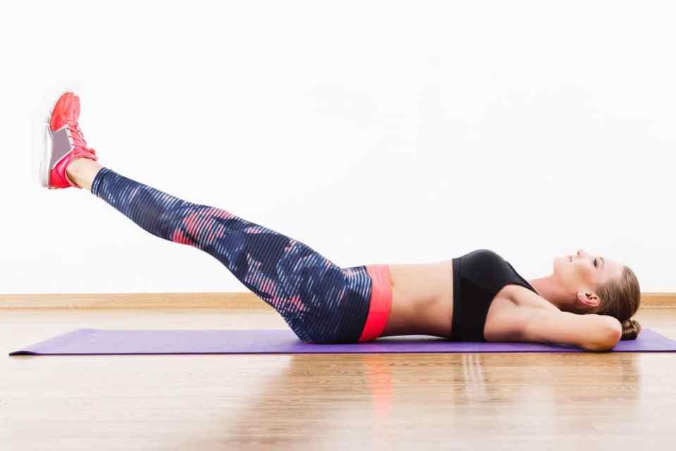 ejercicios de core con peso corporal