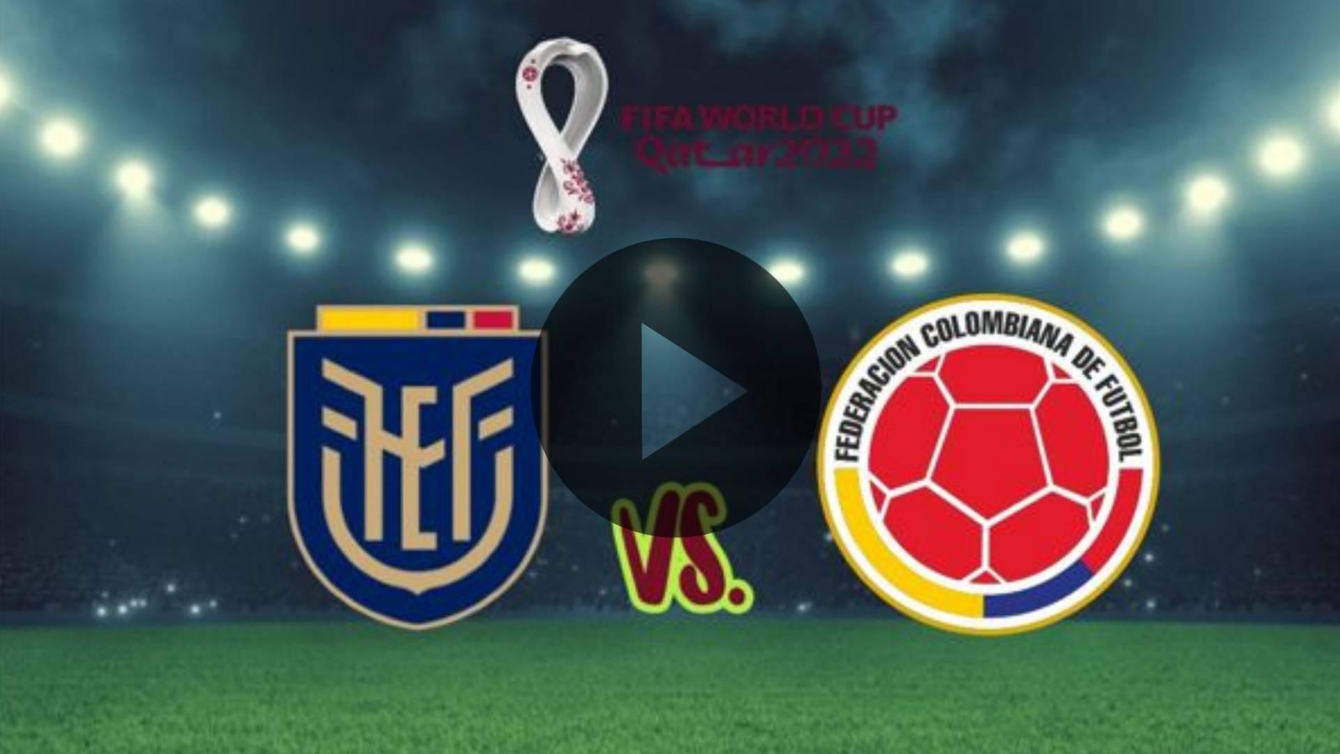 AQUI EN VIVO YouTube 🆕 Ecuador vs Colombia ecuador vs colombia resumen Video honesto, Ecuador vs Colombia EN VIVO hoy
