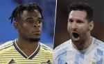 Argentina vs.Colombia en el Estadio Metropolitano de Barranquilla