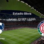 el Monterrey recibe al Toluca