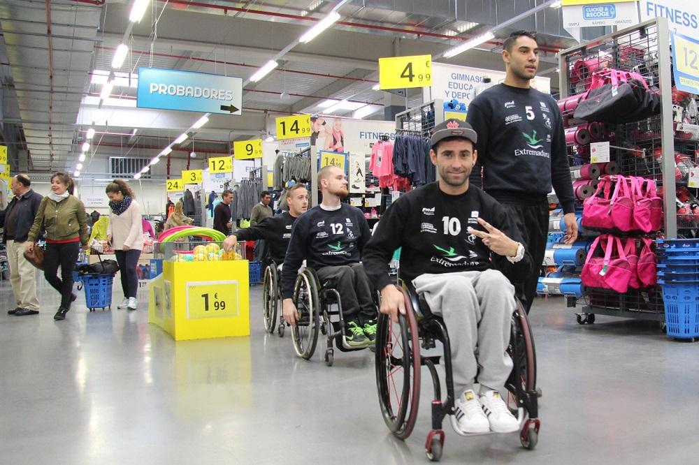 Decathlon apoyará al Mideba Extremadura