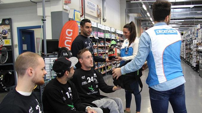 Decathlon apoyará al Mideba Extremadura esta temporada
