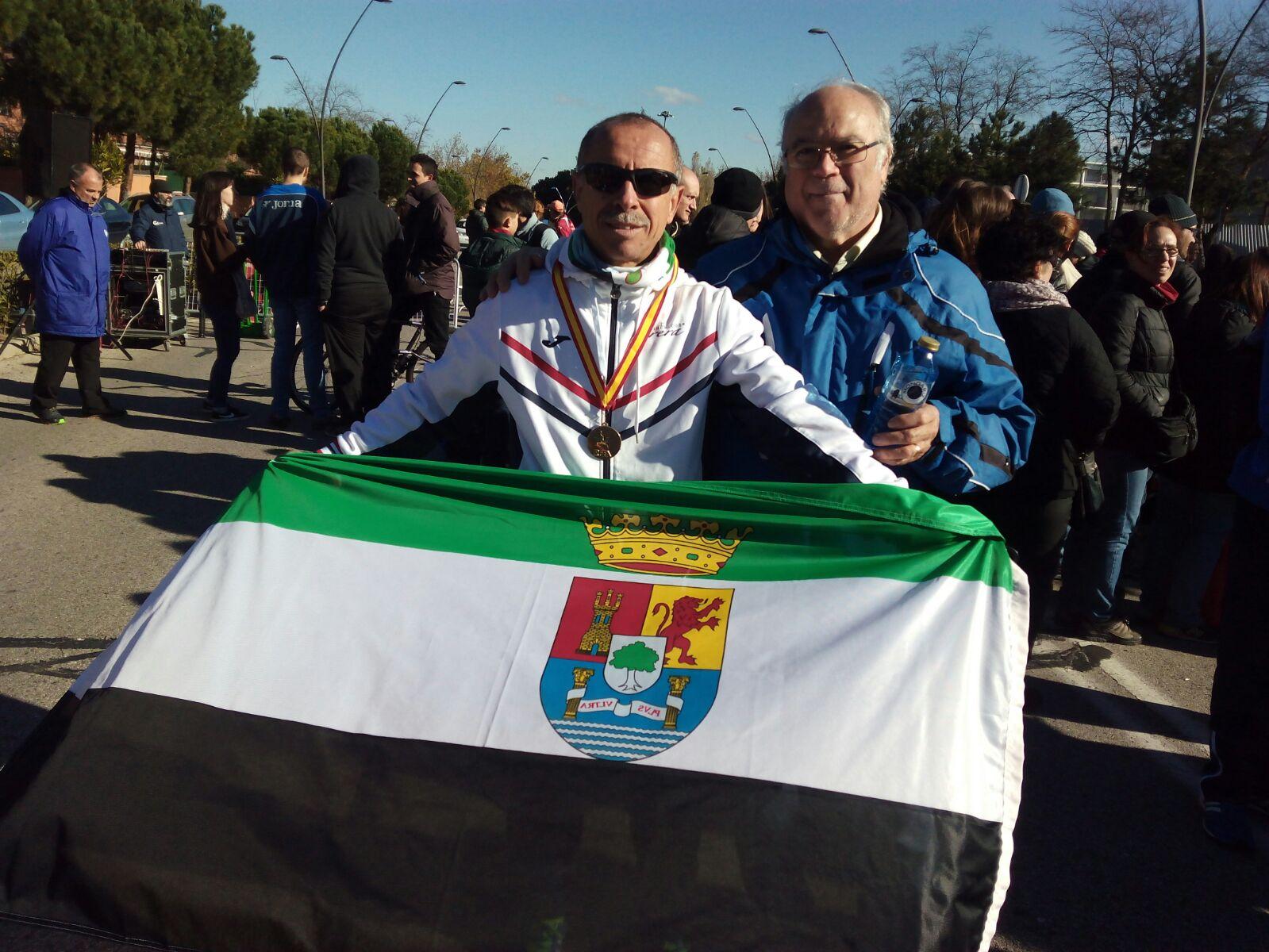 Miguel Periañez Campeón de España Veterano de Marcha