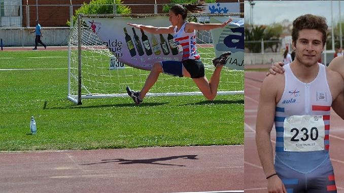 Los atletas Raúl Fernández y Lucía Sánchez consiguen las mínimas para el Campeonato de España Junior