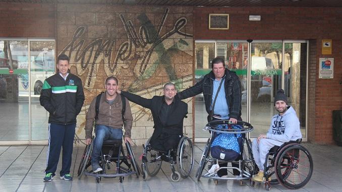 Los argentinos Joel Gabas y Gustavo Villafañe ya entrenan con el Mideba Extremadura