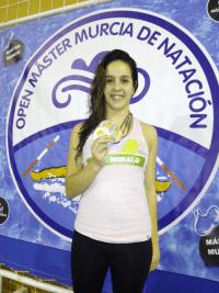 Tamara Blázquez - Primera Jornada Liga Máster Extremadura de Natación
