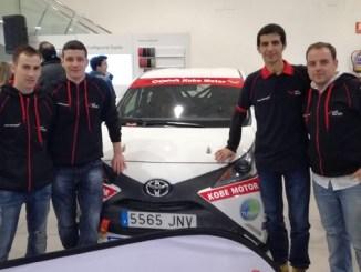 Dos vehículos del Extremadura Rallye Team en la Copa Kobe Motor