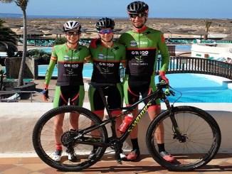 El Extremadura-Ecopilas quiere brillar con Martín, Alonso y Romero en la 4 Stage MTB Lanzarote que se estrena en categoría UCI