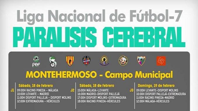 Liga Nacional de Fútbol7 Paralisis Cerebral