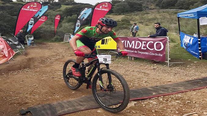 Pedro Romero y Paco Mancebo golpean primero en la Vuelta a Córdoba BTT