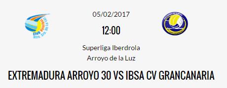 Prev. E. Arroyo-IBSA Las Palmas - El Extremadura Arroyo necesita ganar al IBSA Las Palmas
