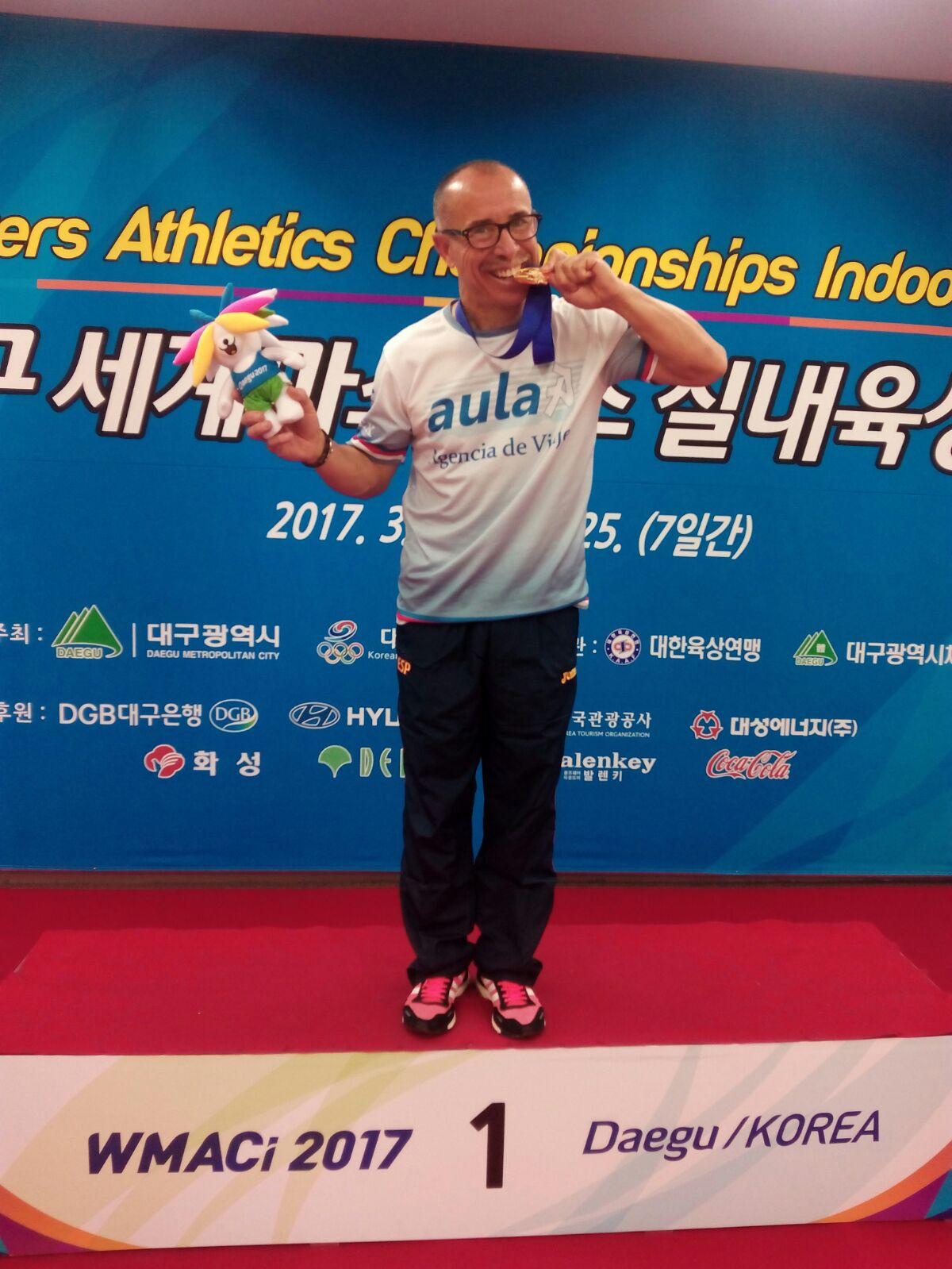 Miguel Periañez Campeón del Mundo en los 3KM Marcha