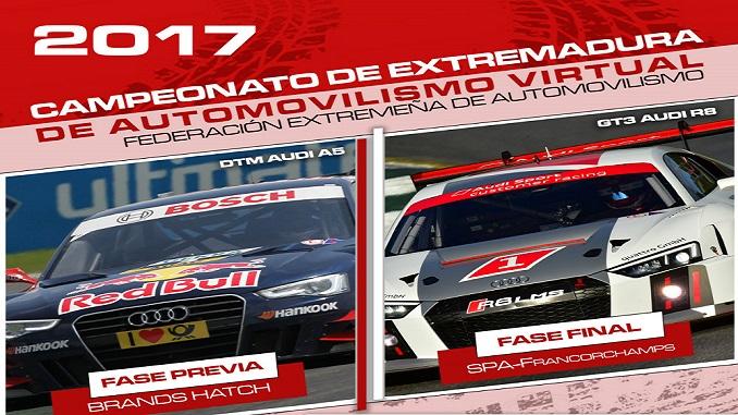 Arranca la nueva campaña del automovilismo virtual en Extremadura