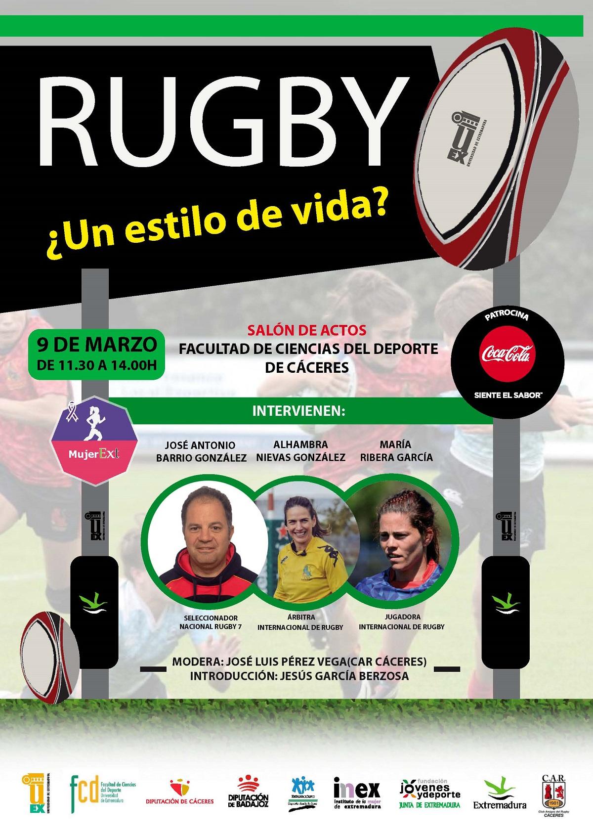 Jornada Rugby, un estilo de vida en la UEX